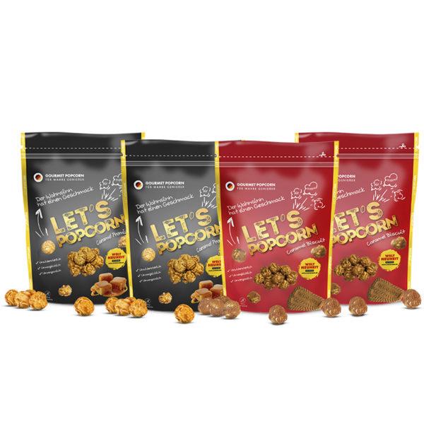 Powerpack, Premium Caramel, Caramel Biscuit, LetsPopcorn