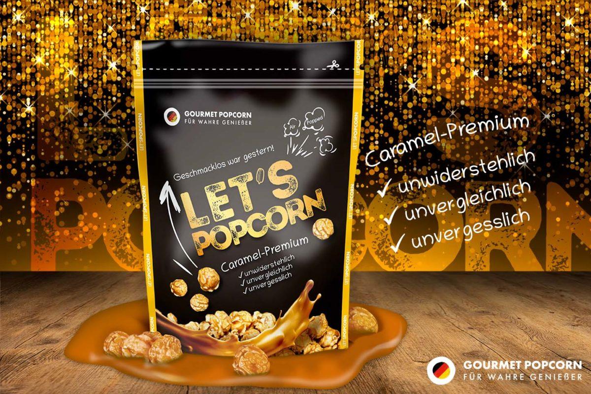 Let's Popcorn Caramel Premium, 80g