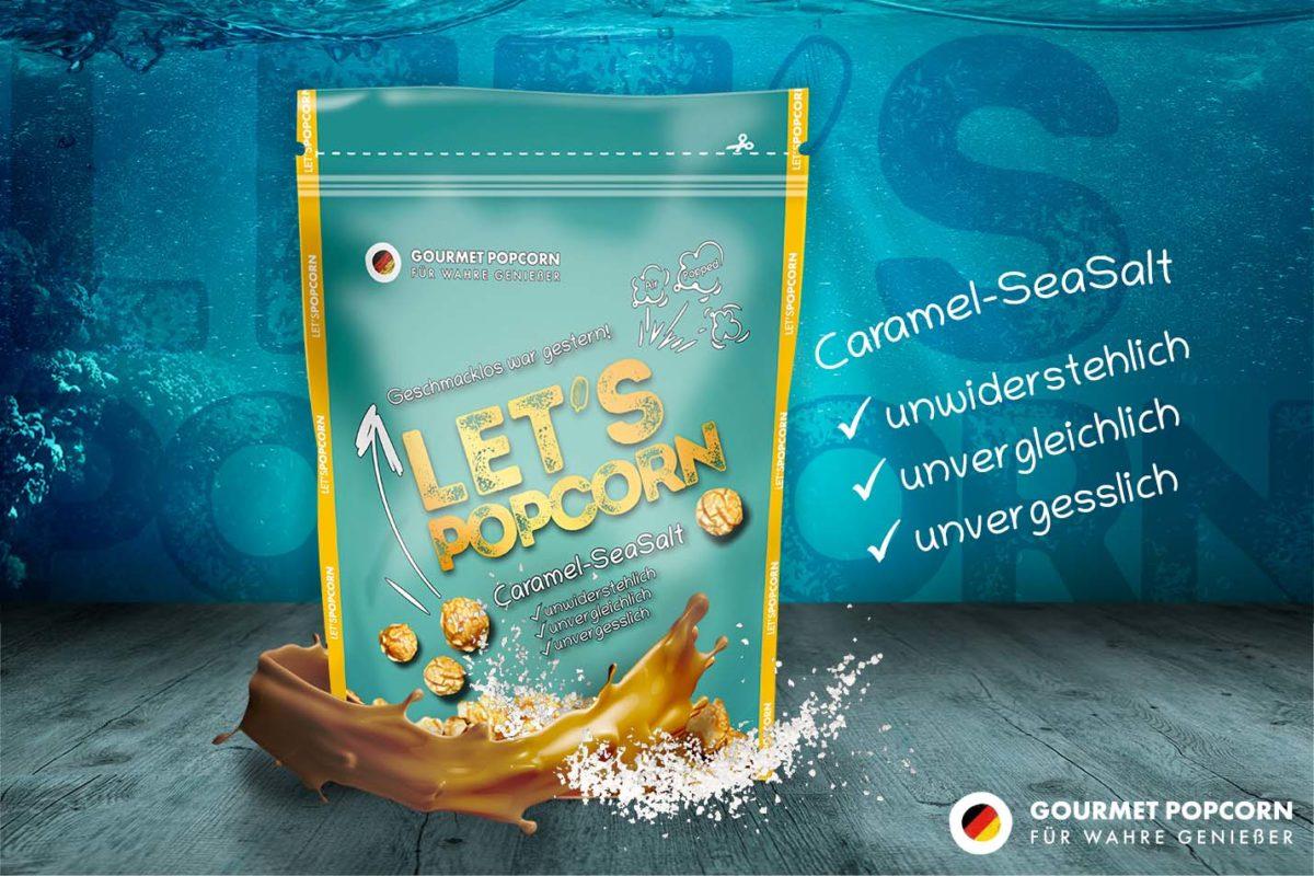 Let's Popcorn Caramel SeaSalt, 80g